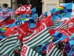 Manifestazione unitaria dei lavoratori del pubblico impiego