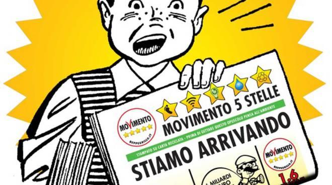 Italia 5 stelle a roma gli attivisti bergamaschi pronti a for Esponenti movimento 5 stelle