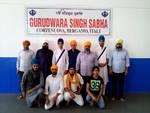 Un gruppo di indiani Sikh