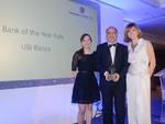 Victor Massiah ritira il premio consegnato a Londra a a UBI Banca quale miglior banca italiana.