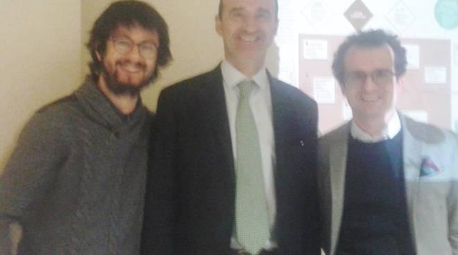 Alberto Trussardi, Stefano Scaglia e Marco Bellini