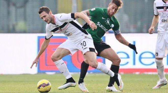 Denis, doppietta contro il Palermo