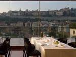 Il Roof Garden dell'Hotel Excelsior San Marco di Bergamo (foto Roof Garden Restaurant)