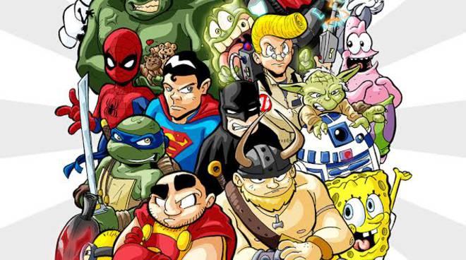 Fumetti e cinecomics i disegni dei supereroi loro