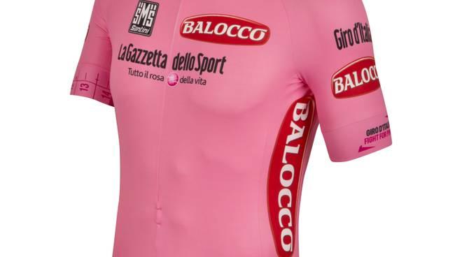 La nuova maglia rosa del Giro 2015