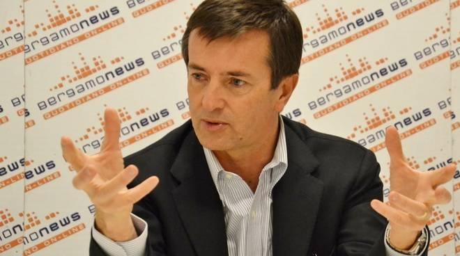 Il sindaco Giorgio Gori ospite di Bergamonews