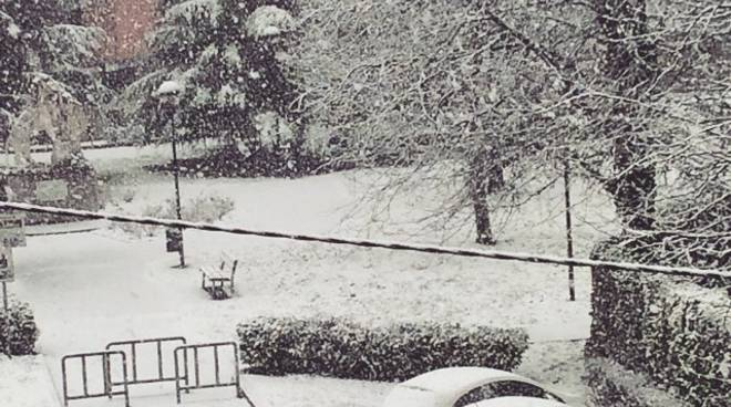 Nevicata in Bergamasca - 5 febbraio