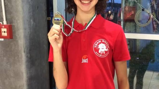 Criteria nazionali giovanili 2 bronzi e un argento per angelica cortinovis bergamo news - Piscina comunale treviglio ...