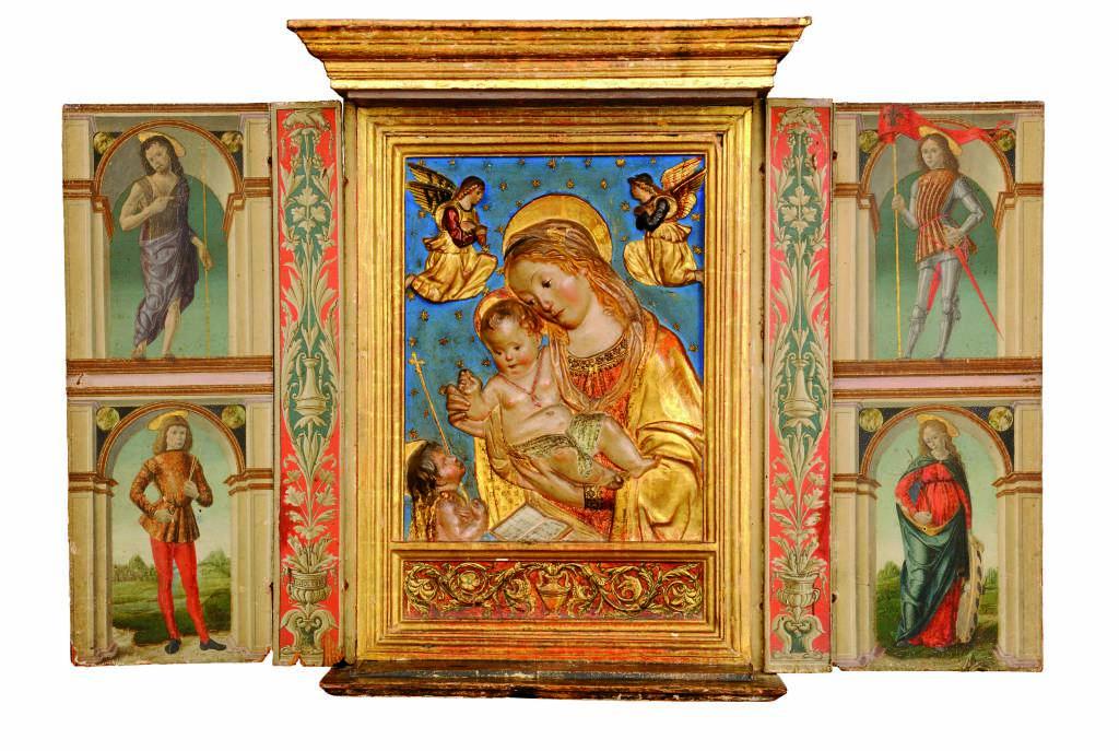 """""""Dall'oro al cielo"""" al museo Bernareggi"""