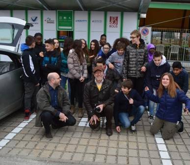 Inaugurazione della stazione di ricarica veicoli elettrici a Presezzo