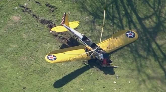 L'aereo di Harrison Ford
