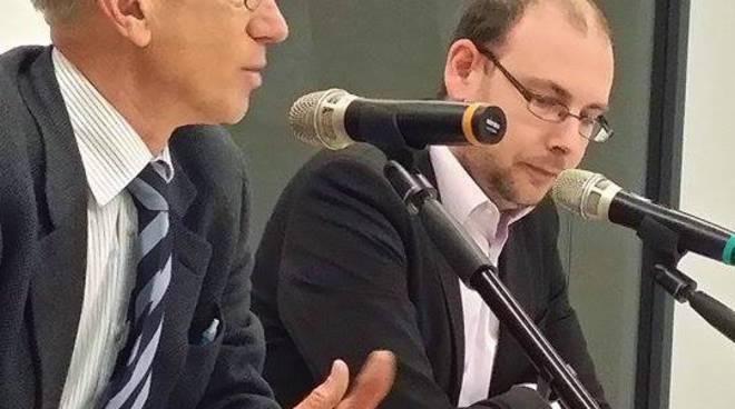 Alberto Cerruti con Roberto Pelucchi