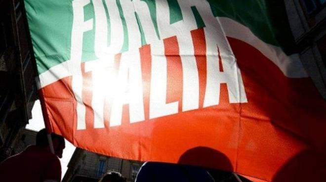 Bandiera di Forza Italia
