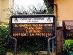 Basta tagli: la protesta dei sindaci bergamaschi