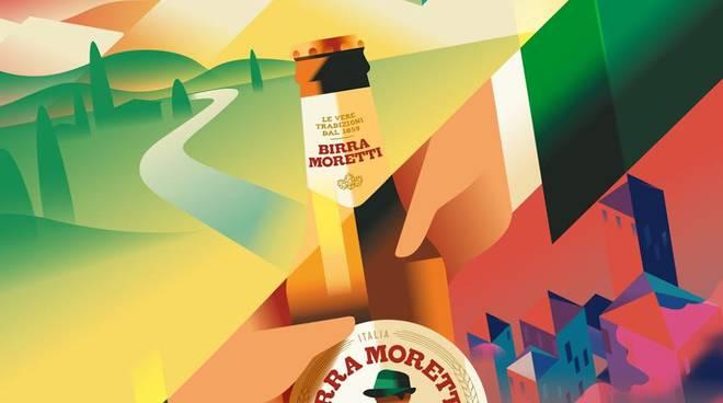 Birra Moretti a Km zero