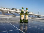 Birra Moretti prodotta col sole e per l'Expo