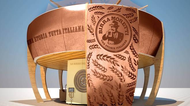 Bottega Birra Moretti ad Expo
