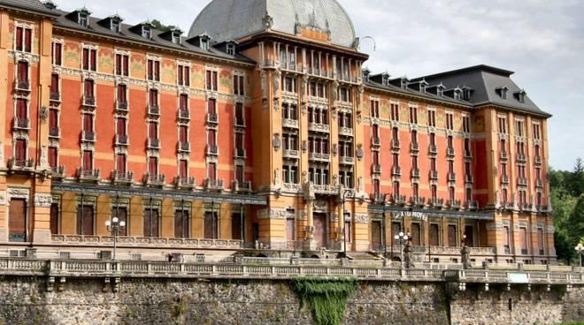 Inizia il restauro del Grand Hotel di San Pellegrino