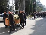 Il funerale di Gigi Parma