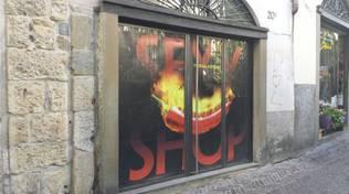 Il nuovo sexy shop di via Colleoni