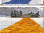 Il ponte di Christo sul lago d'Iseo
