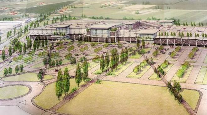 Il progetto del centro commerciale di Quintano