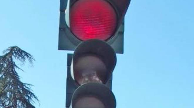 Il semaforo di Pontesecco