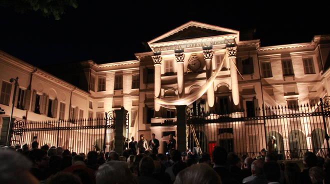 Inaugurazione dell'accademia Carrara