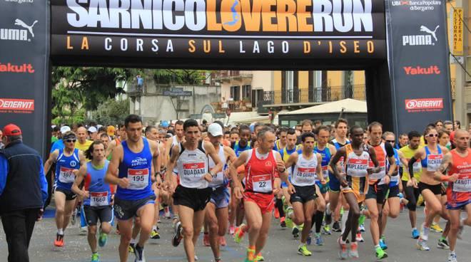 """La """"Sarnico-Lovere Run"""" domenica al via"""