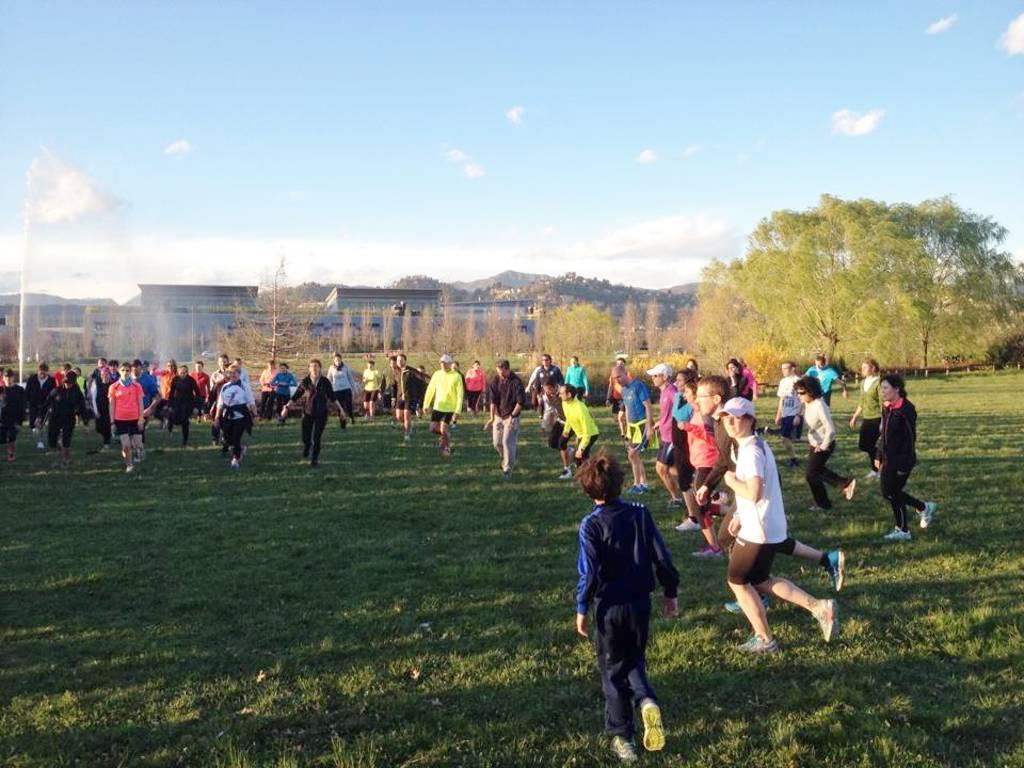 La Trucca invasa dai runners giovedì 2 aprile