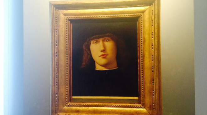 Lorenzo Lotto: Ritratto di giovane alla Carrara