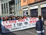 Manifestazione anti-Expo e Buona scuola