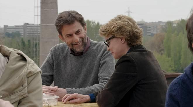 """""""Mia madre"""": Nanni Moretti e Margherita Buy"""