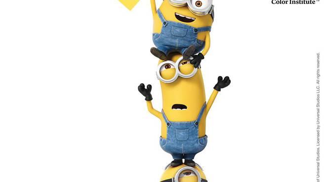 Minion Yellow: il nuovo colore rilasciato da Pantone