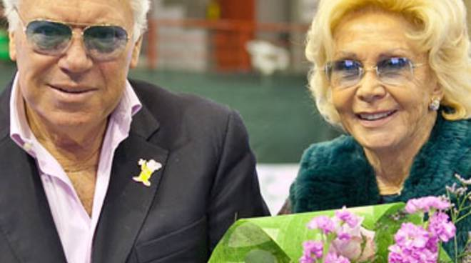 Nicola Pietrangeli e Lea Pericoli al Tc Bergamo