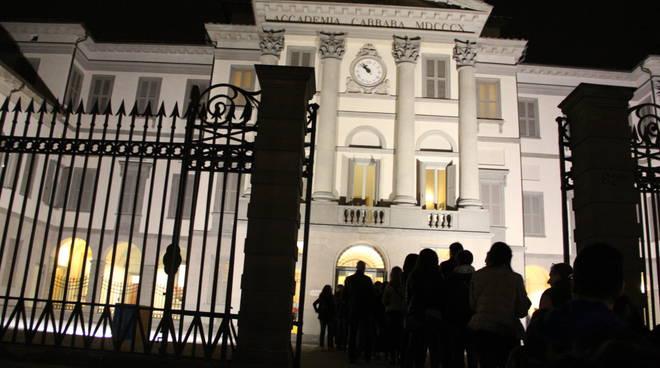 Notte bianca per la Carrara