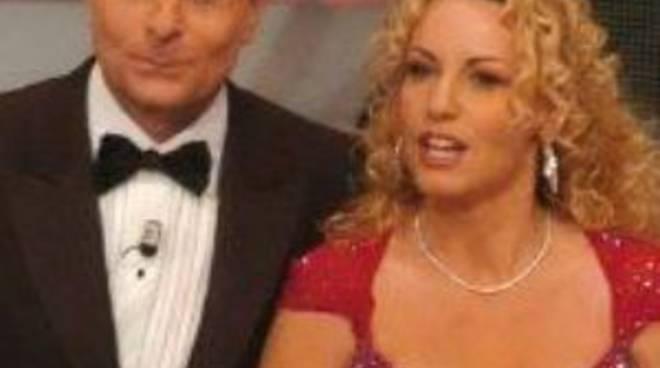 Paolo Bonolis e Antonella Clerici