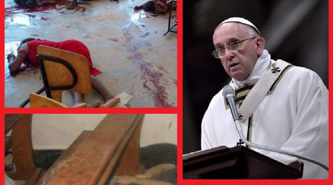 Papa Francesco e l'attentato ai cristiani in Kenya