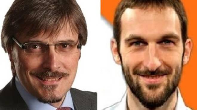 Angelo Capelli (ncd) e Jacopo Scandella (Pd)