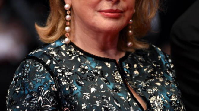 Catherine Deneuve a Cannes