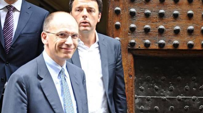 Enrico Letta contro Matteo Renzi