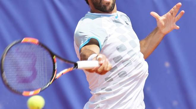 Federico Gaio, 23 anni, ha vinto il derby di primo turno contro Della Tommasina