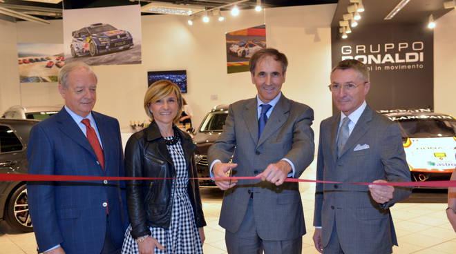 Gian Emilio Brusa, Simona Bonaldi, Giuseppe Sermisoni e Giancarlo Bassi