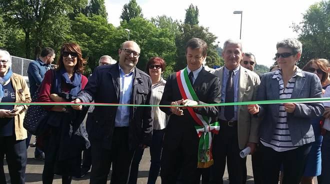 Inaugurazione del ponte di Monterosso