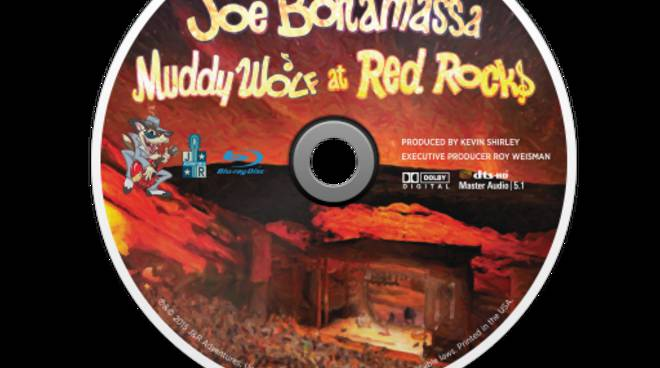 Joe Bonamassa Muddy Wolf at the Red Rocks