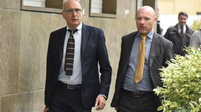 L'arrivo di Bossetti in tribunale