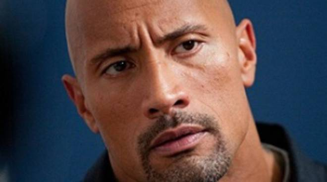 l'attore e wrestler Dwayne Johnson, in San Andreas