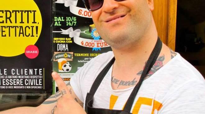 Marco Pirovano, proprietario del marchio PolentOne