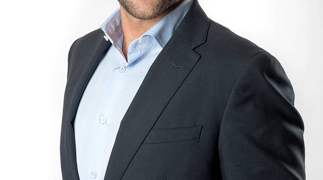 Massimo Morstabilini, candidato sindaco di Clusone Viva