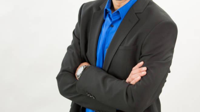 Mattia Merelli, candidato sindaco di Lega Nord-Forza Italia
